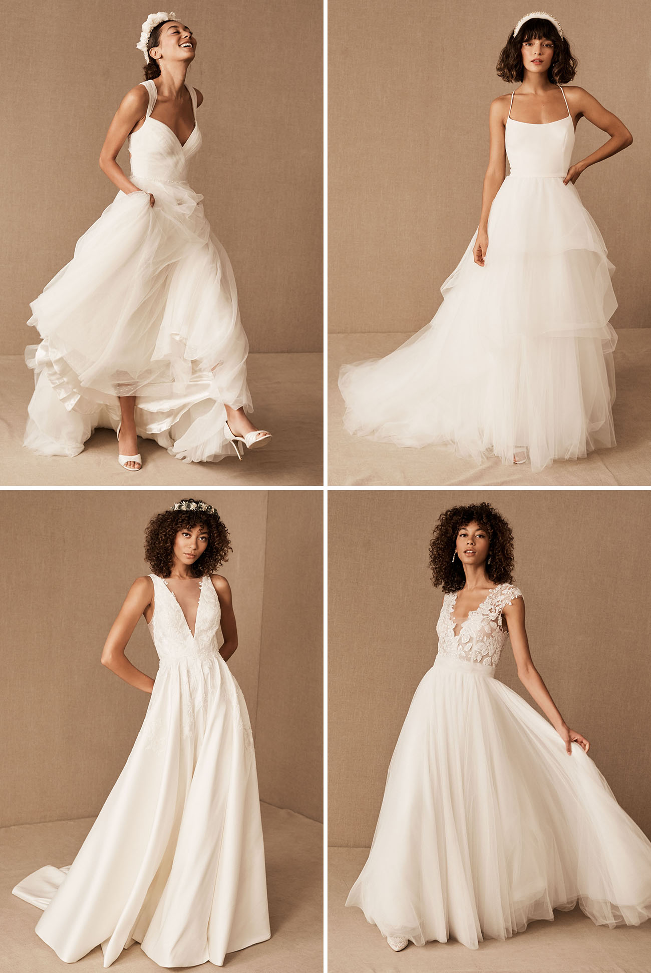 Let's Play Matchmaker! The Best BHLDN Gown For Your Dream Wedding Venue - Green Wedding Shoes