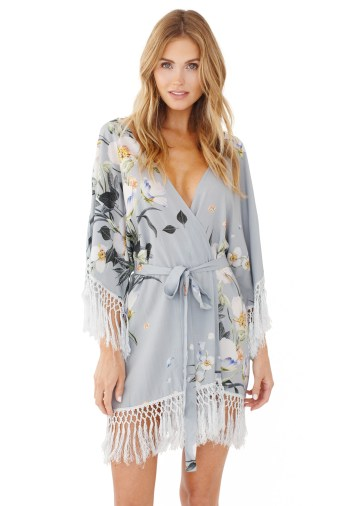GWSxPPS Hibiscus Robe in Lovestoned