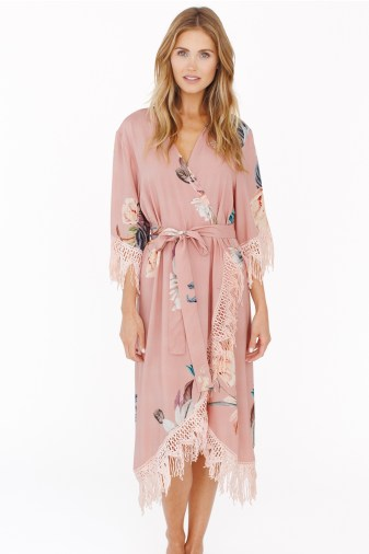 GWSxPPS Hibiscus Midi Robe in Cove Diaries