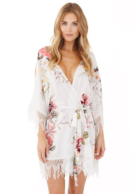 GWSxPPS Hibiscus Robe in Vista