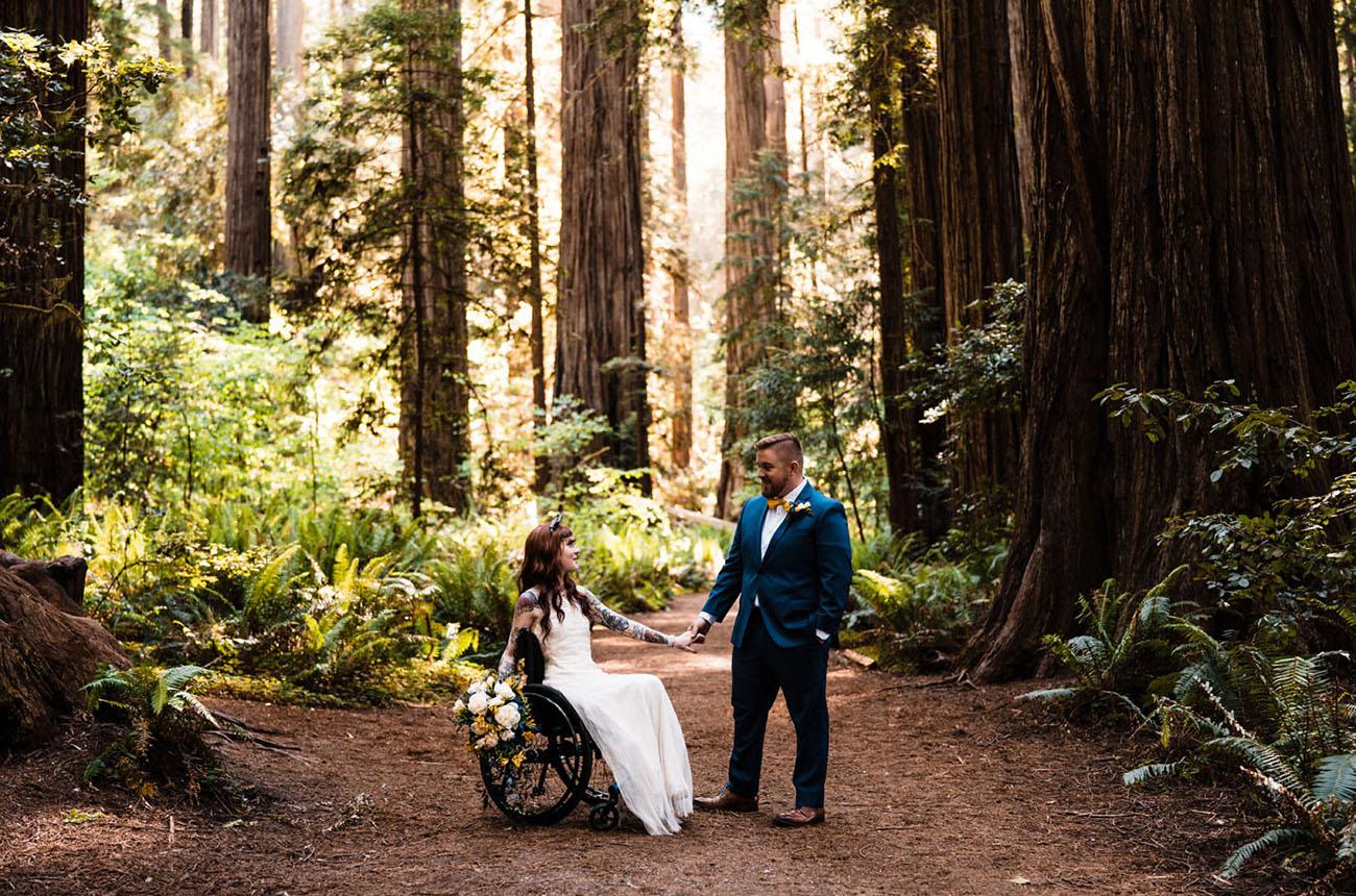 California Redwoods Elopement
