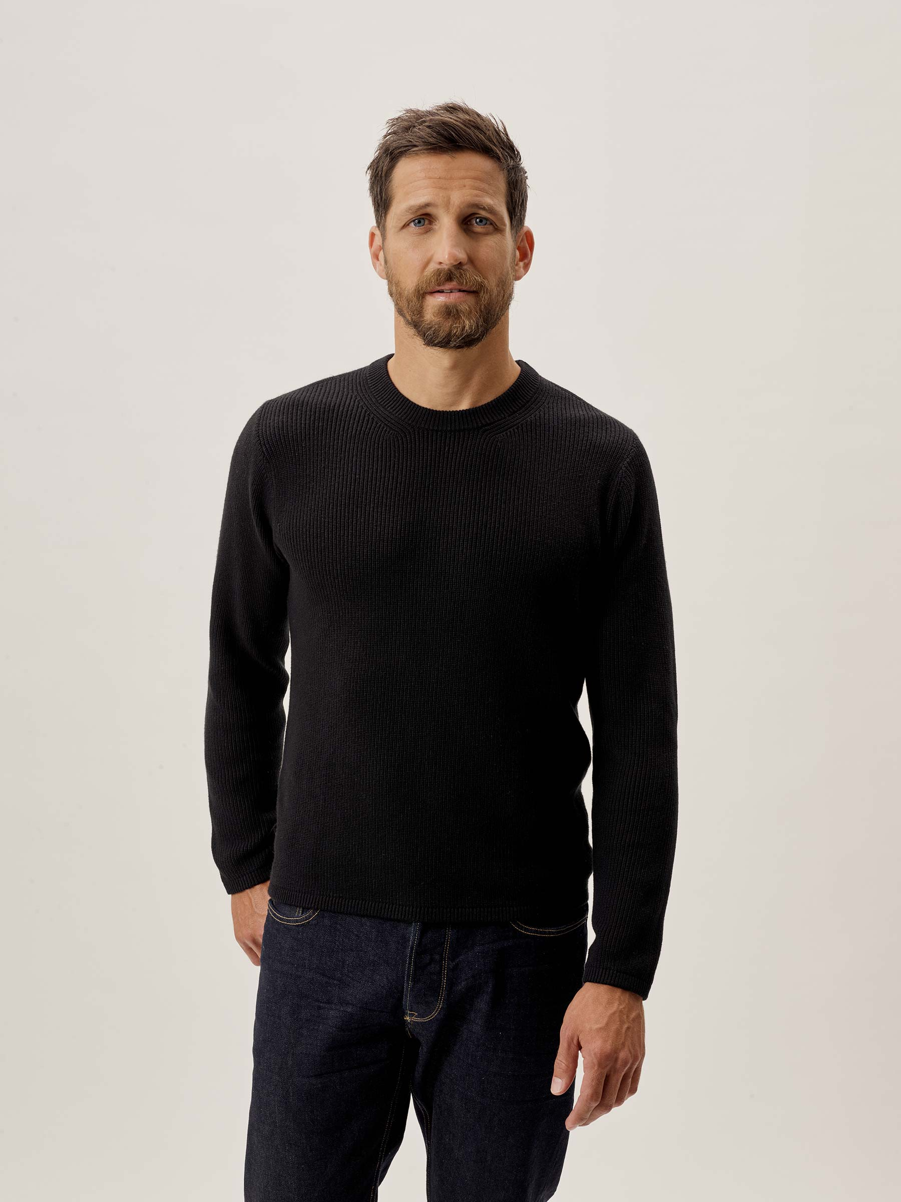 Black Sweater Gift Idea for Him