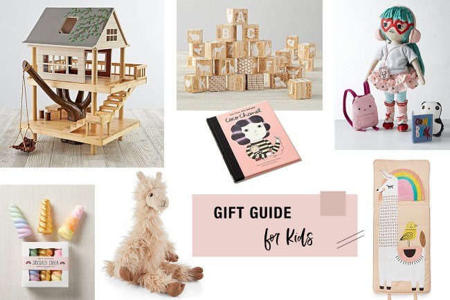 2019 Gift Guide for Kids featuring Crate & Kids