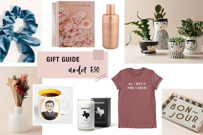 2019 Gift Guide for Gifts Under $30