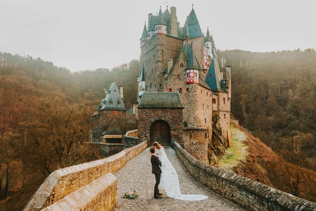 Burg Eltz German Castle Elopement