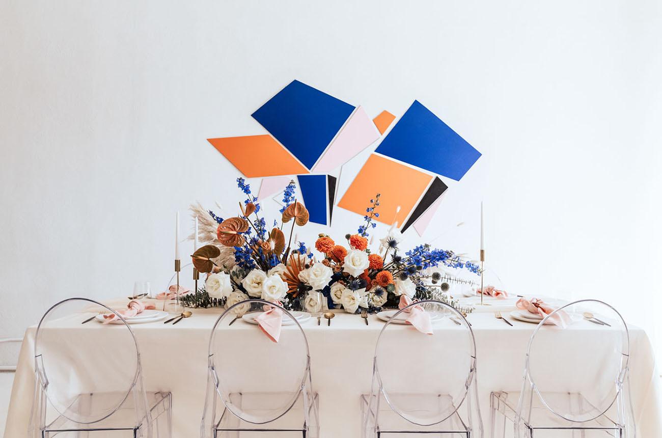 Blue & Orange Color Palette Inspiration