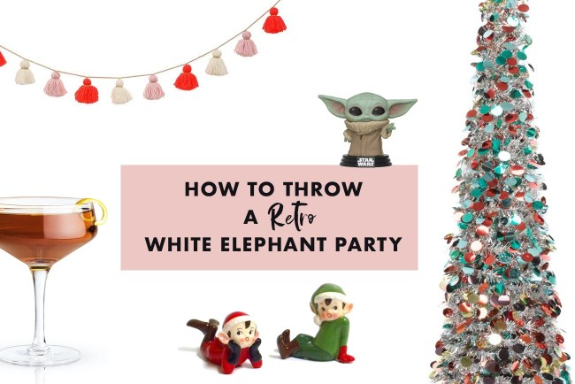 How to Throw a White Elephant Party