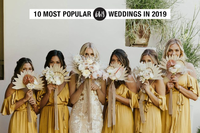 Top 10 Weddings from 2019