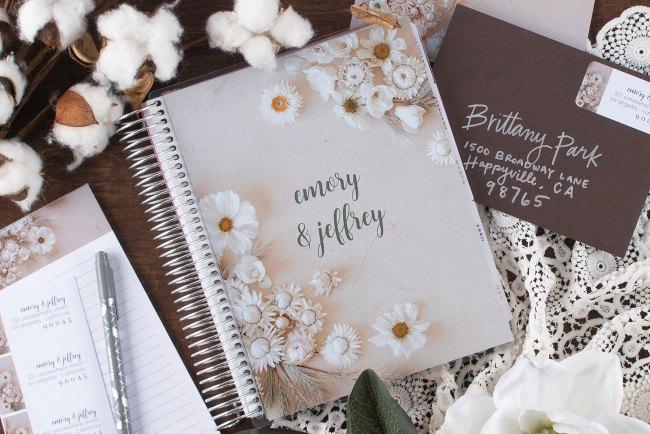 floral wedding planner