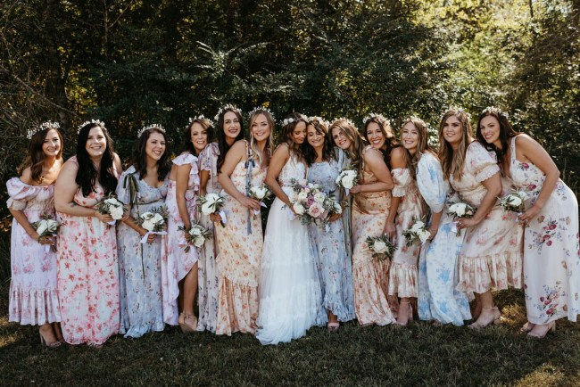 Hippy Arkansas Wedding