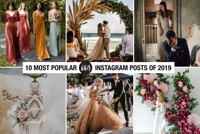 Top Green Wedding Shoes Instagram Posts of 2019