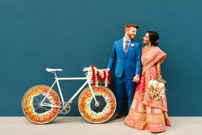 Colorful Cultural Fusion Wedding