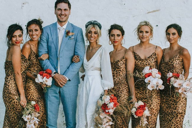 Using Leopard Print in your wedding day