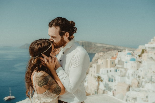 Destination Wedding Videographer in Greece Cinema of Poetry
