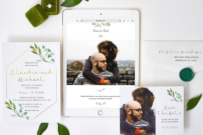 free wedding website
