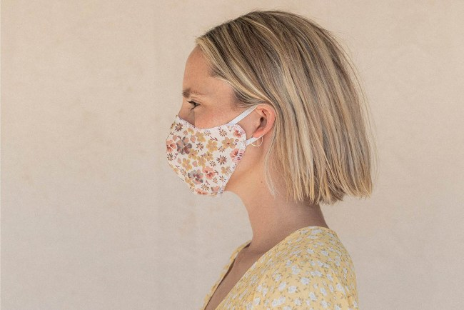 Christy Dawn fabric face mask