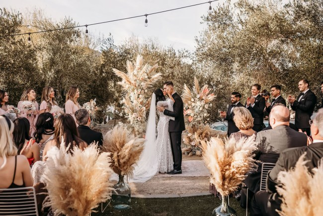 Pam Springs Ace Hotel Boho Wedding