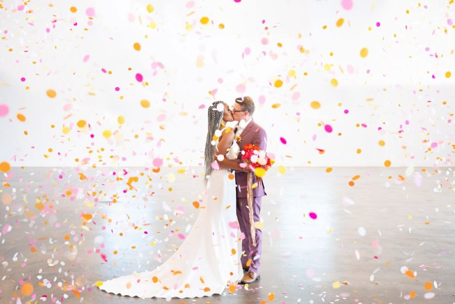 Colorblock Wedding Inspiration