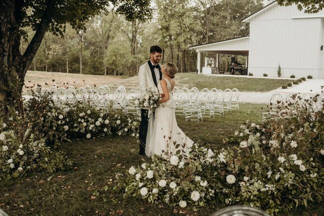 Ohio Modern Barn Wedding