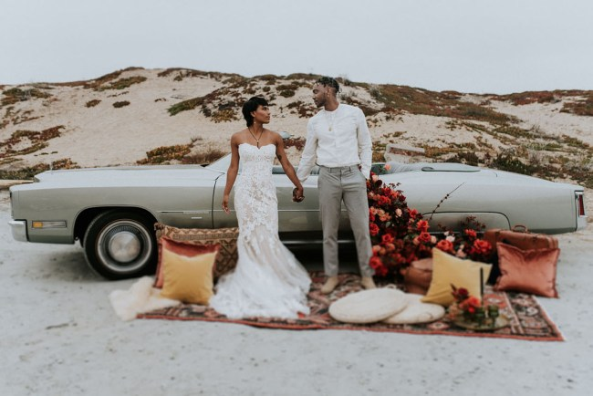 1970's Roadtrip Elopement