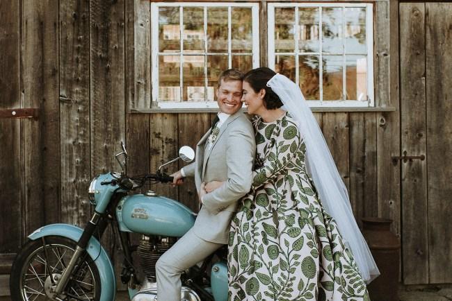Rustic Vermont Wedding