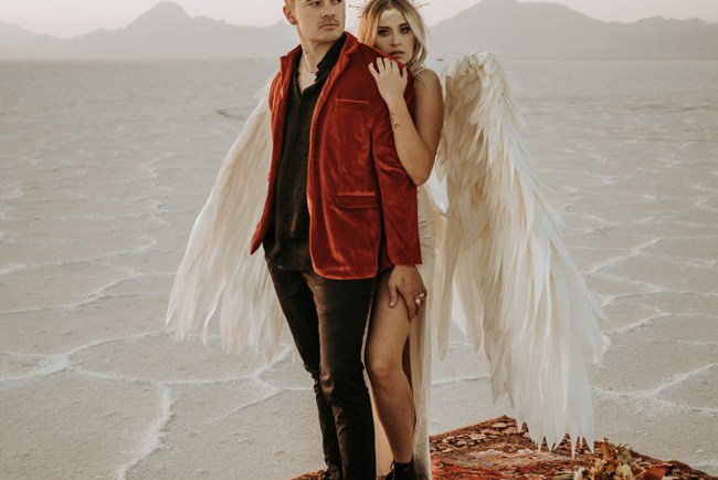 fallen angel engagement shoot