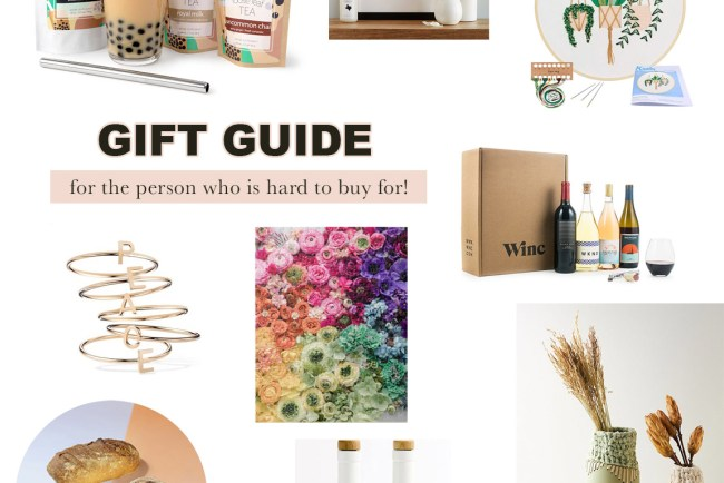 Gift Guide for the Person Who is Hard to Buy For