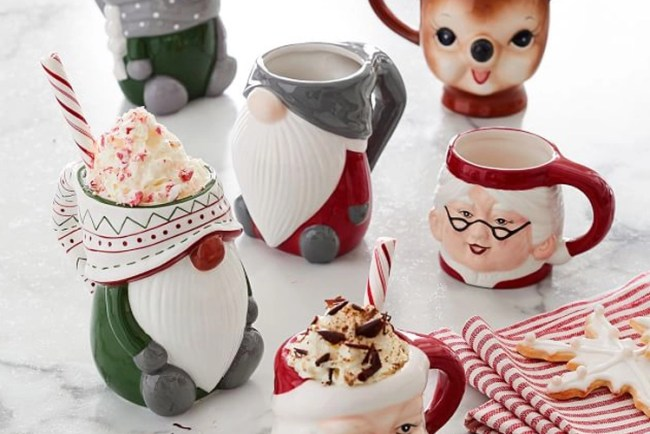New Christmas Mugs for Gifts