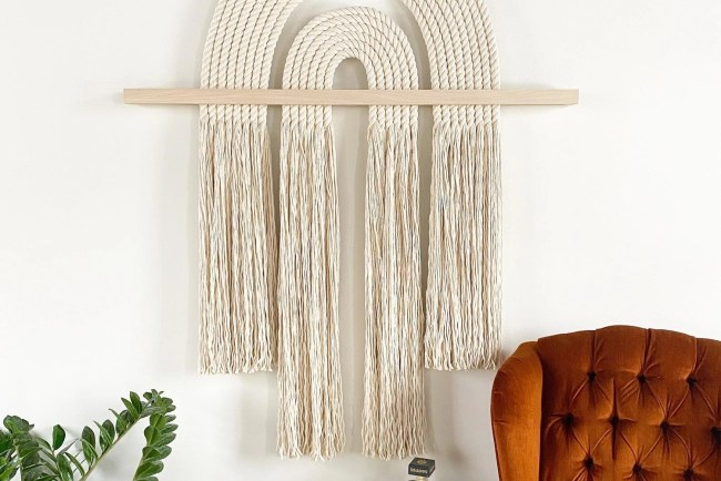 macrame wall hanging- etsy finds