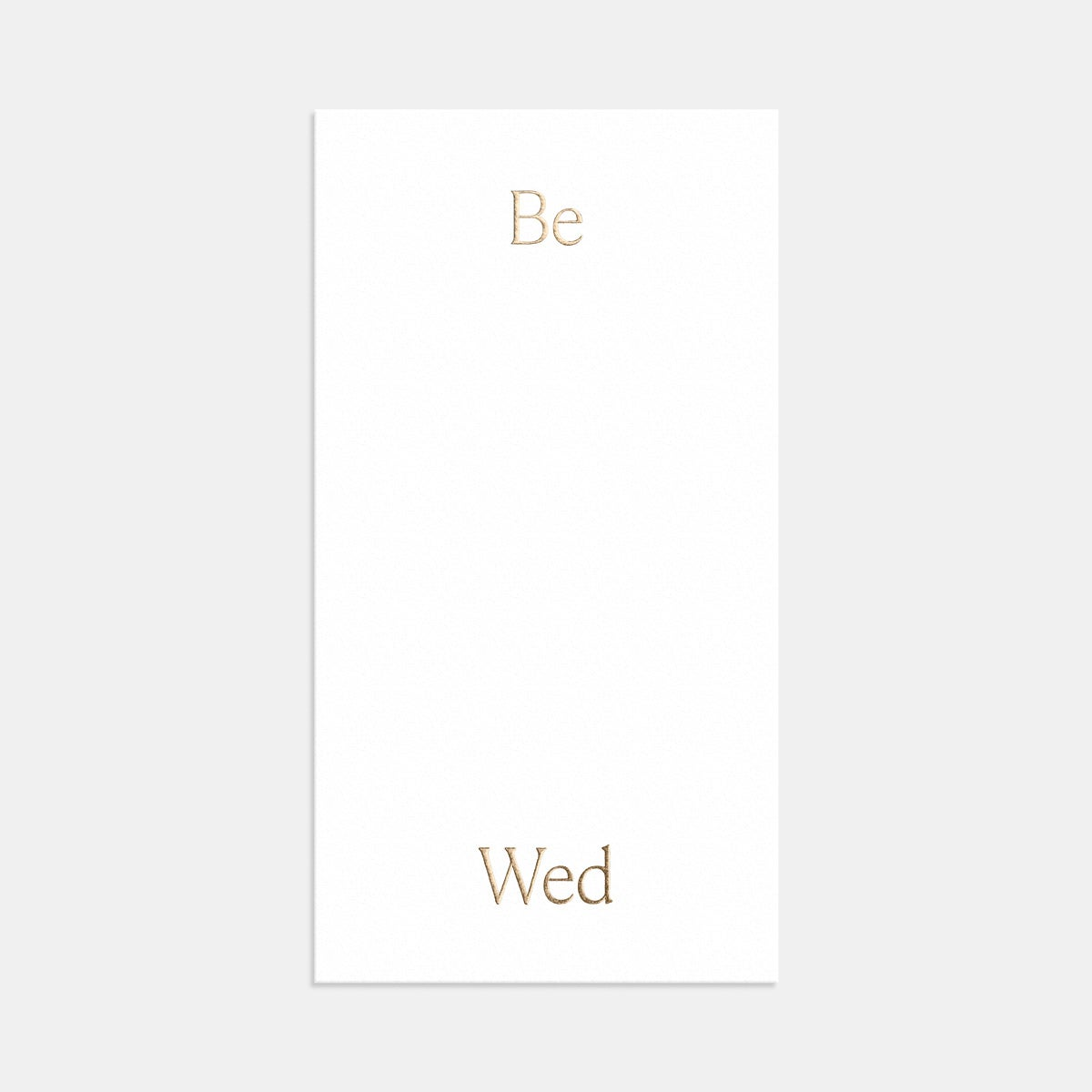 artifact be wed invitation