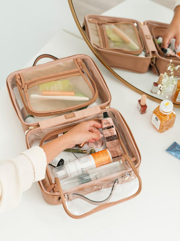 Clear Cosmetics Travel Case by Calpak Best Bridal Shower Gifts