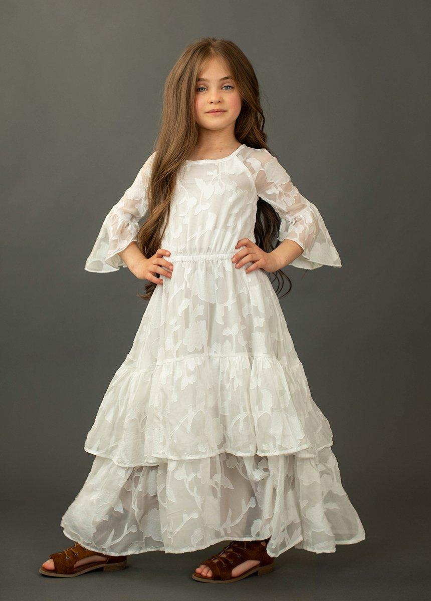 flower-girl dress