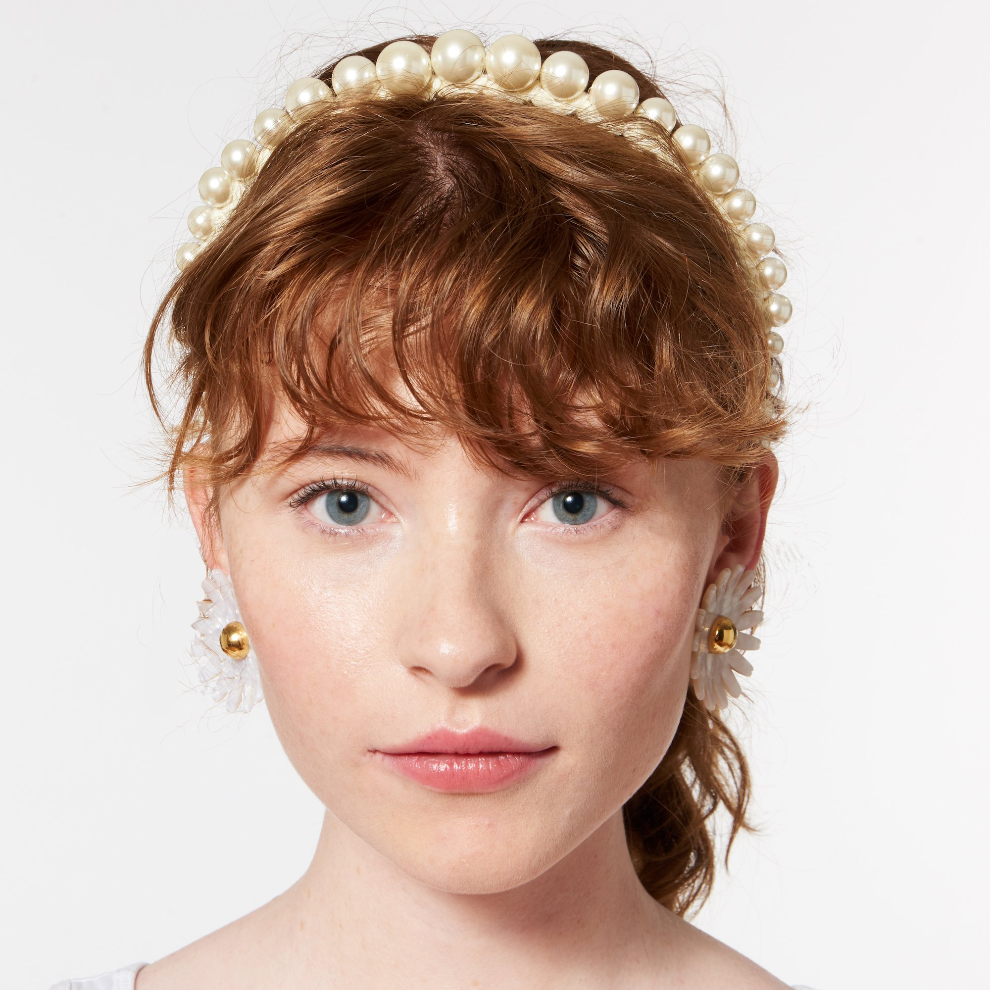 velvet pearl bridal crown