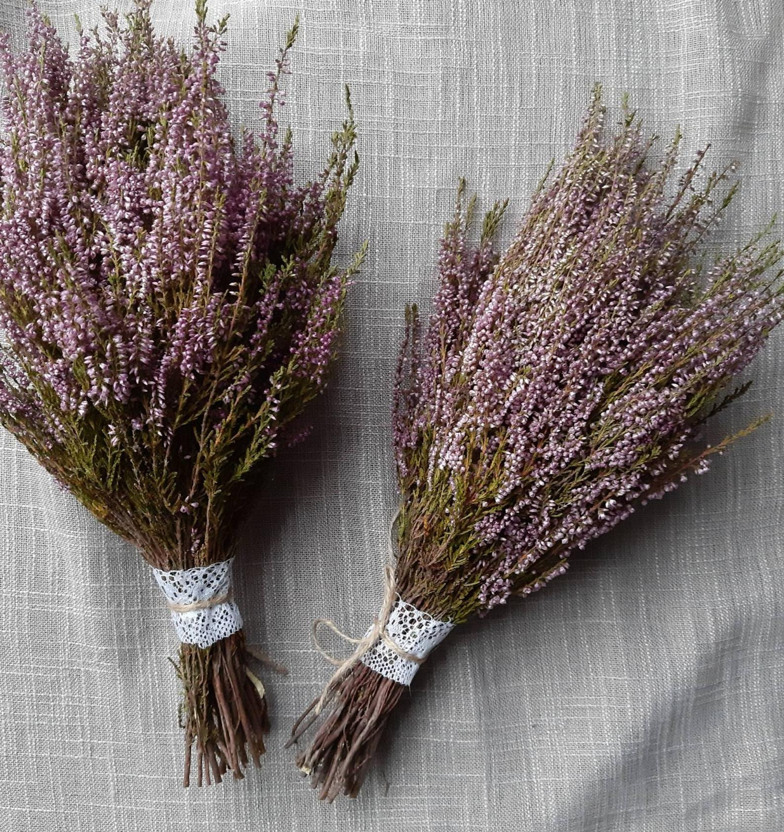 dried lavender bunches from Etsy
