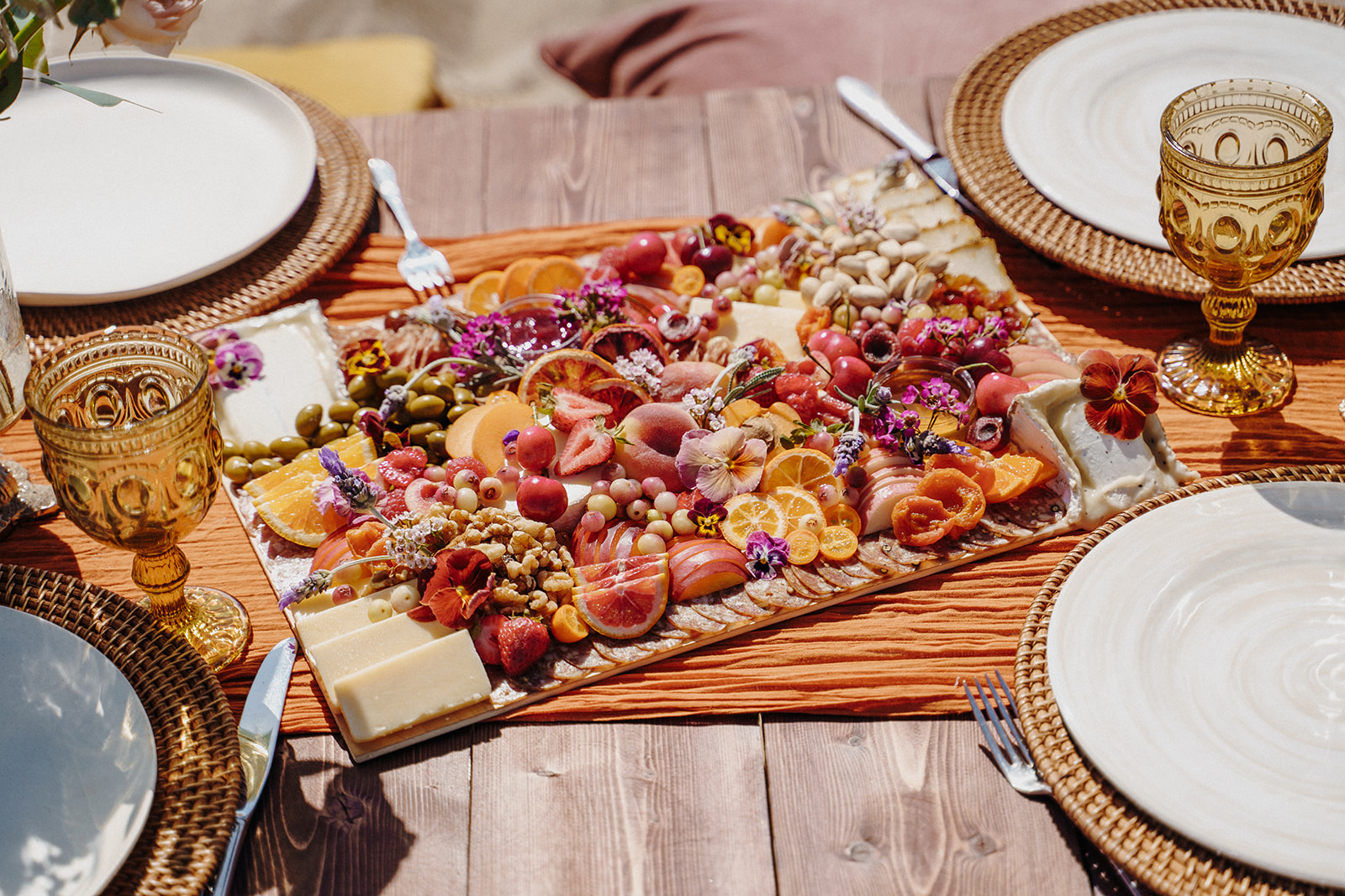 engagement party ideas and food spreads