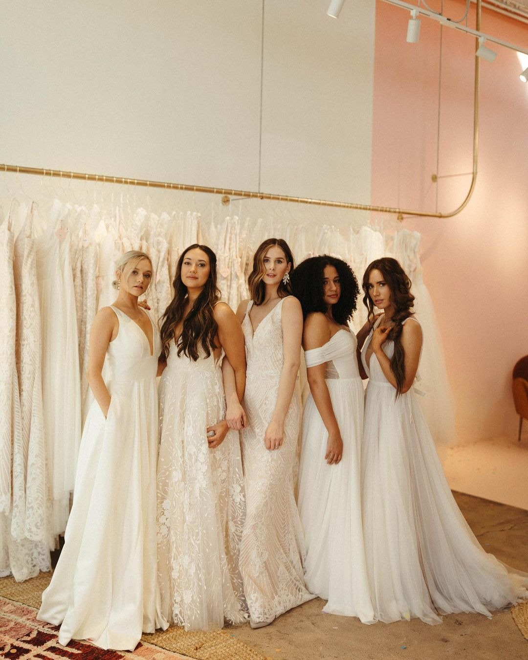 collection of wedding gowns from Vow'd