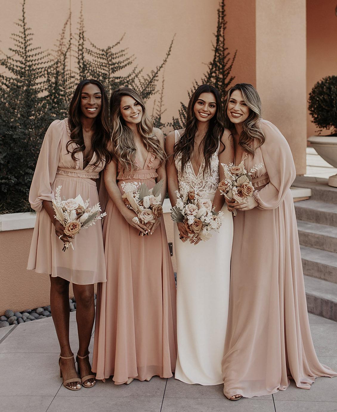 lovely bridesmaids dresses