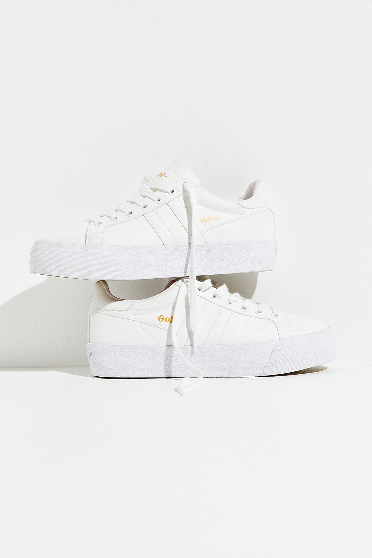 low rise platform Free People wedding sneakers