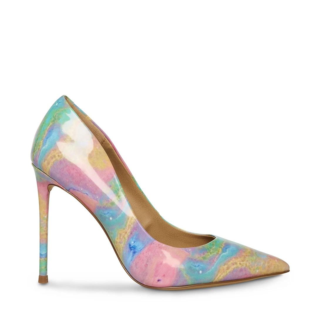 pointed toe pastel rainbow Steve Madden wedding shoes