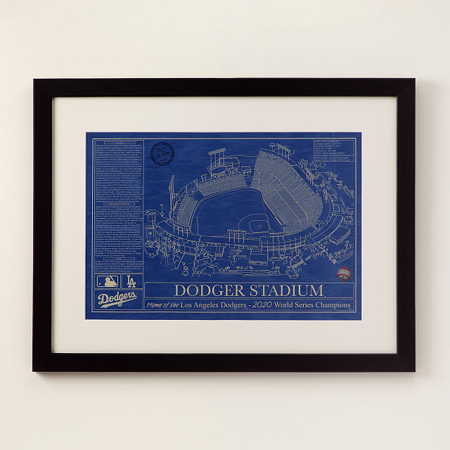 vintage baseball park stadium print