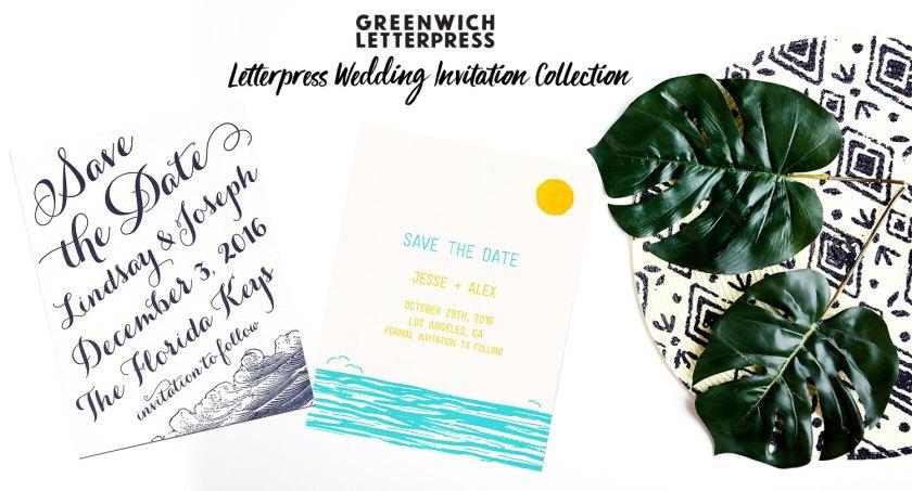 Letterpress Wedding Invitations New York City