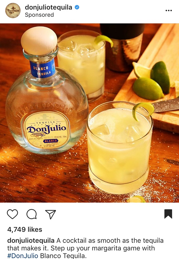 Instagram Advertising for Don Julio