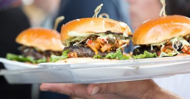 Burgers at the Greenwich Wine + Food Festival 2015