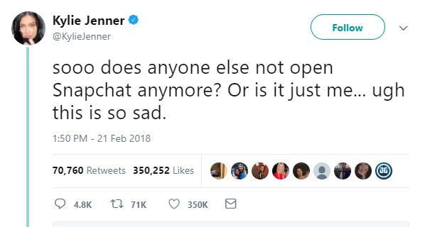 Does Kylie Jenner Still Love Snapchat?