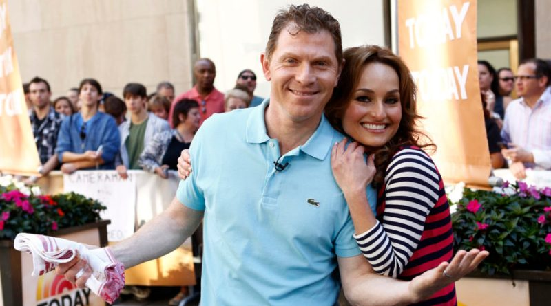 Celebrity chefs and Food Network stars Bobby Flay and Giada De Laurentiis