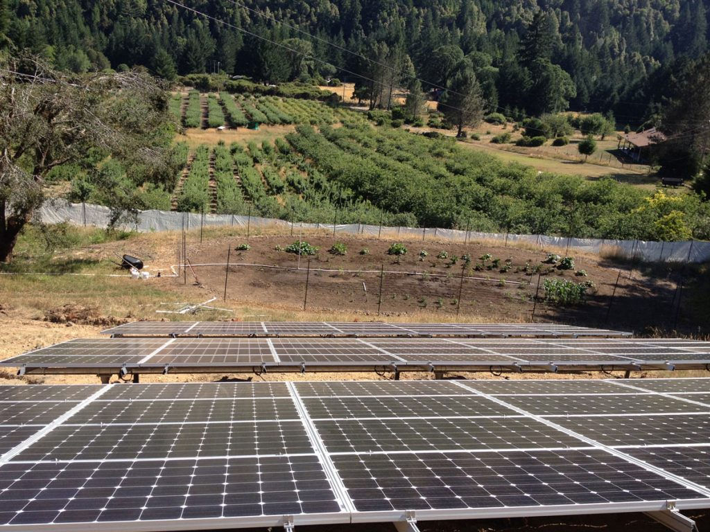 hight resolution of whitethorn ca a 20 kw ground mount grid tied system powering the home