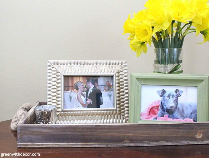 3 Simple Ways To Decorate With A Tray Green With Decor