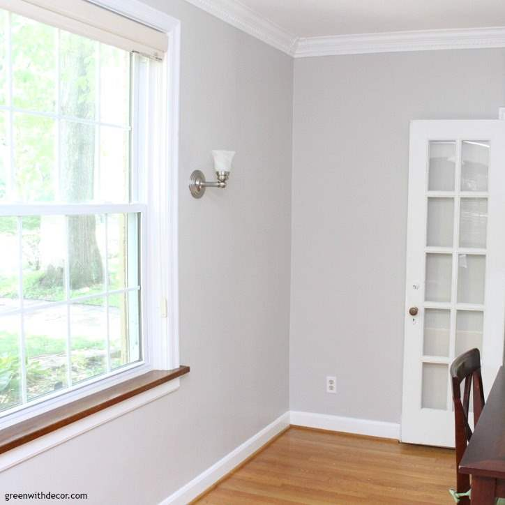 paint colors for living rooms ideas decorating hawaiian room the painted dining room: agreeable gray - green with decor