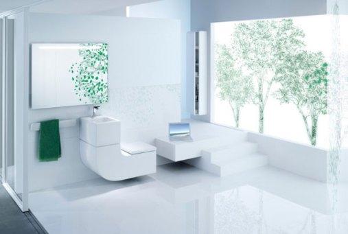 g 345 Eco Friendly, Space Saving Toilet & Washbasin Combo from Roca
