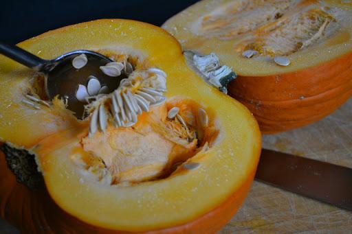 roasted organic sugar pumpkin